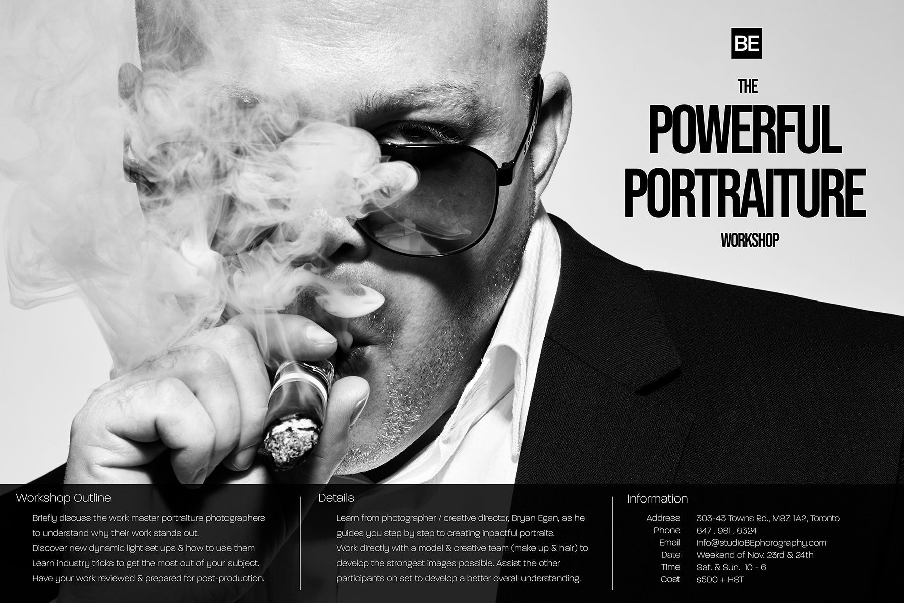 BE_The POWERFUL PORTRAITs Workshop