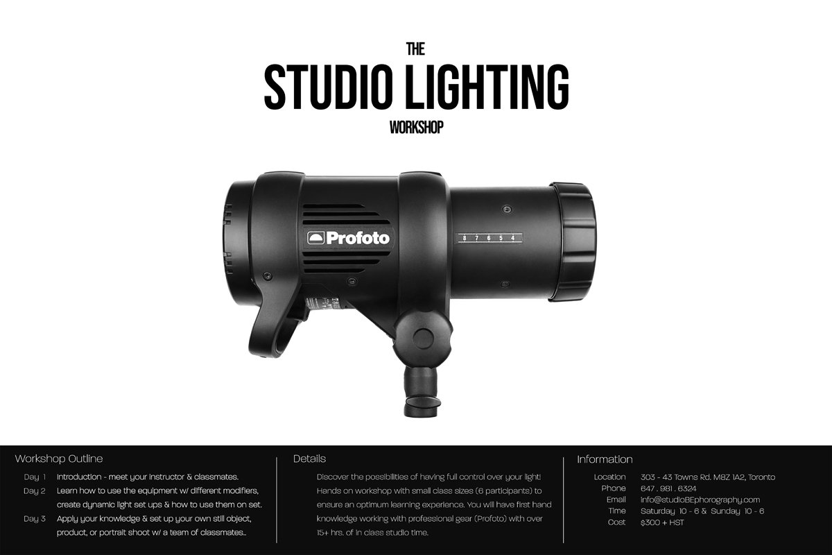 BE – The LIGHTING WORKSHOP_web